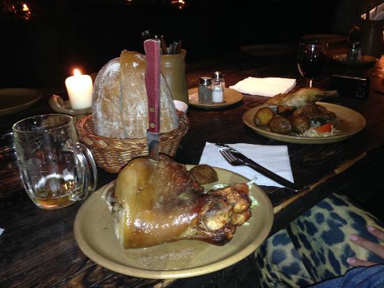 banquet medieval EVG prague