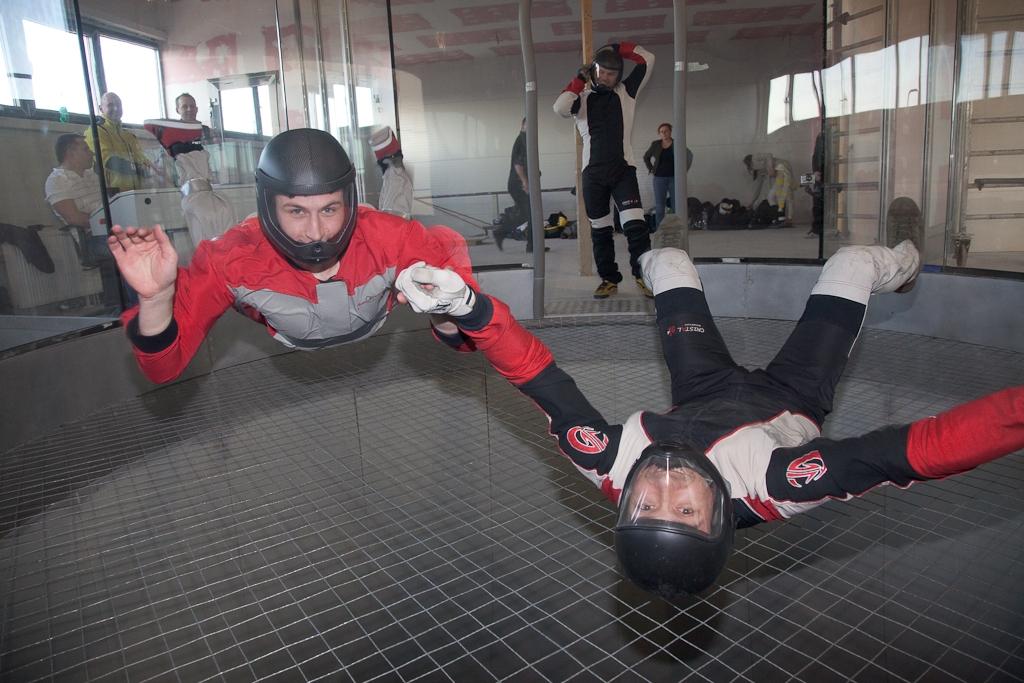 Simulateur de saut prague