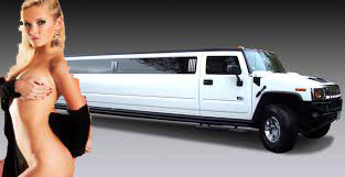 Hummer limousine strip EVG Prague