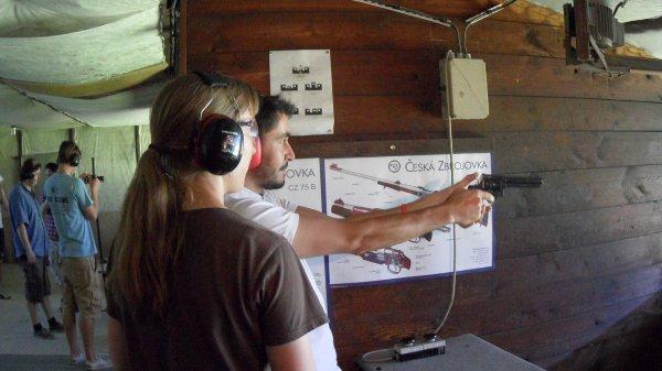 Tir armes à feu evg prague