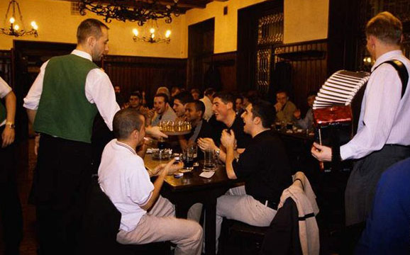 Tournée bars à bières EVG Prague