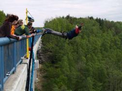 Bungee jumping EVG Prague